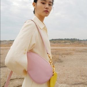 🌸 Reike Nen middle oval bag in pink